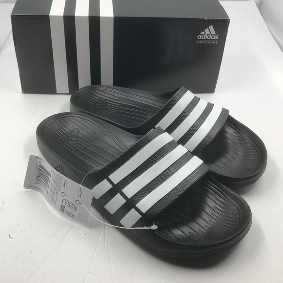04eadd2a1 NEW Adidas Duramo Sport Slide Sandals 9 10 11 12
